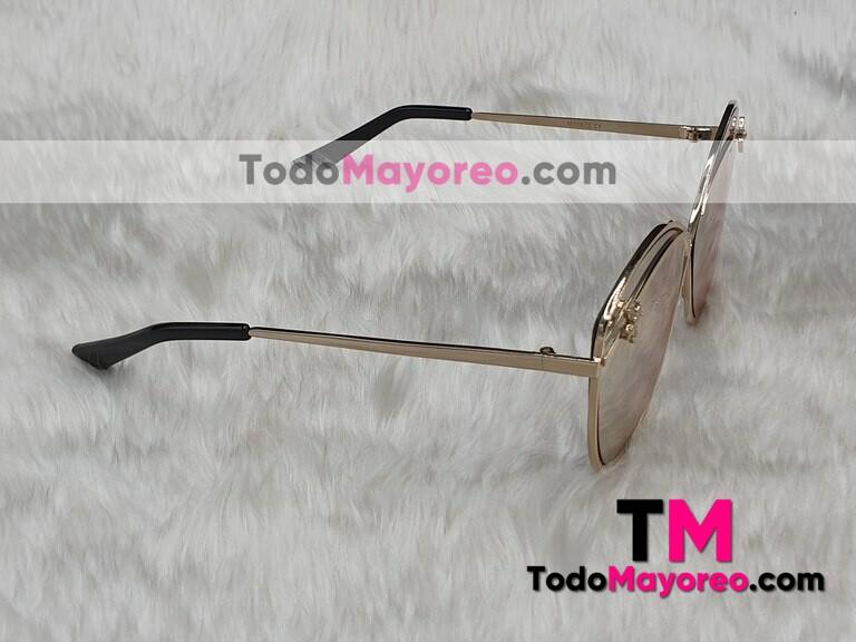 9ac24d6844 Lentes de sol Estilo GUCCI Rosa Cat Eye Armazón de Metal L7062 ...